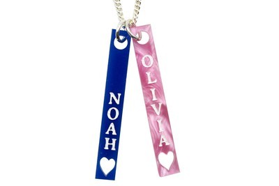 Custom Children's Names on Chain Necklace