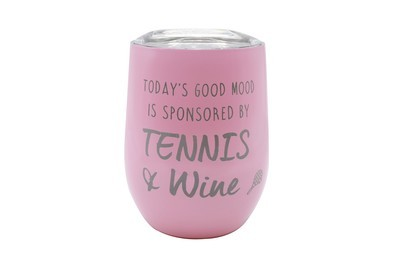 Personalized Saying on Insulated Wine Tumbler