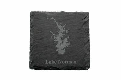Body of Water Slate Coaster Set