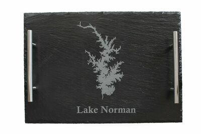 LKN w/Lake Custom Slate Serving Tray