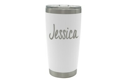 Personalized Insulated Coffee Tumbler with Name 20 oz