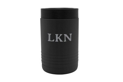 Custom Insulated Beverage Holder with Initials or Saying