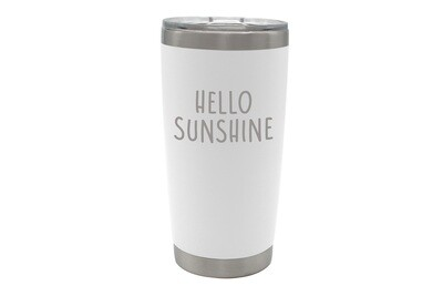 Personalized Insulated Wine Tumbler w/Saying 20 oz