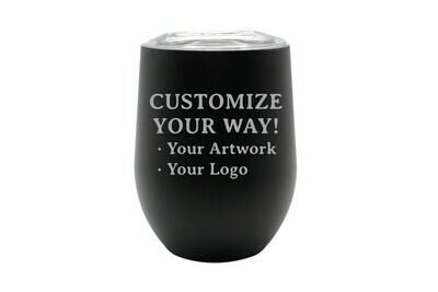 Customize Your Way -12 oz Insulated Tumbler