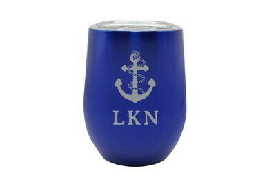 Anchor w/Rope & Customized Location Insulated Tumbler