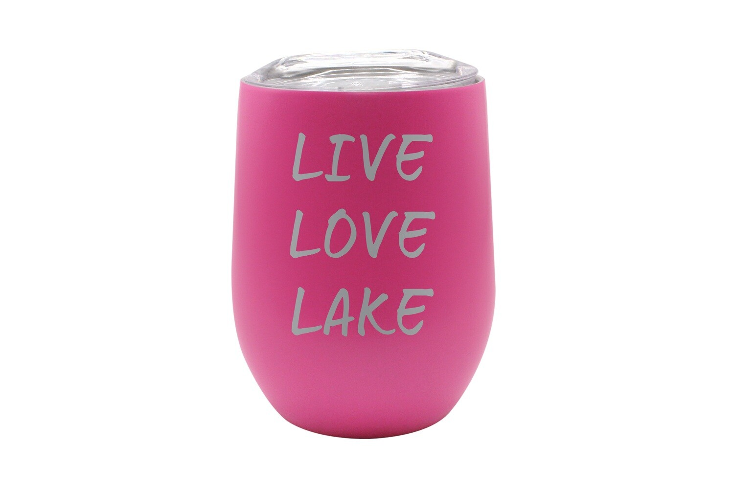 Live Love Lake or Your Custom Words Insulated Tumbler