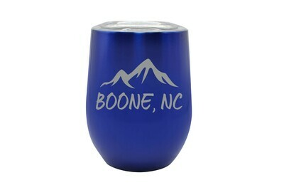 Mountains Customized with City & State Insulated Tumbler