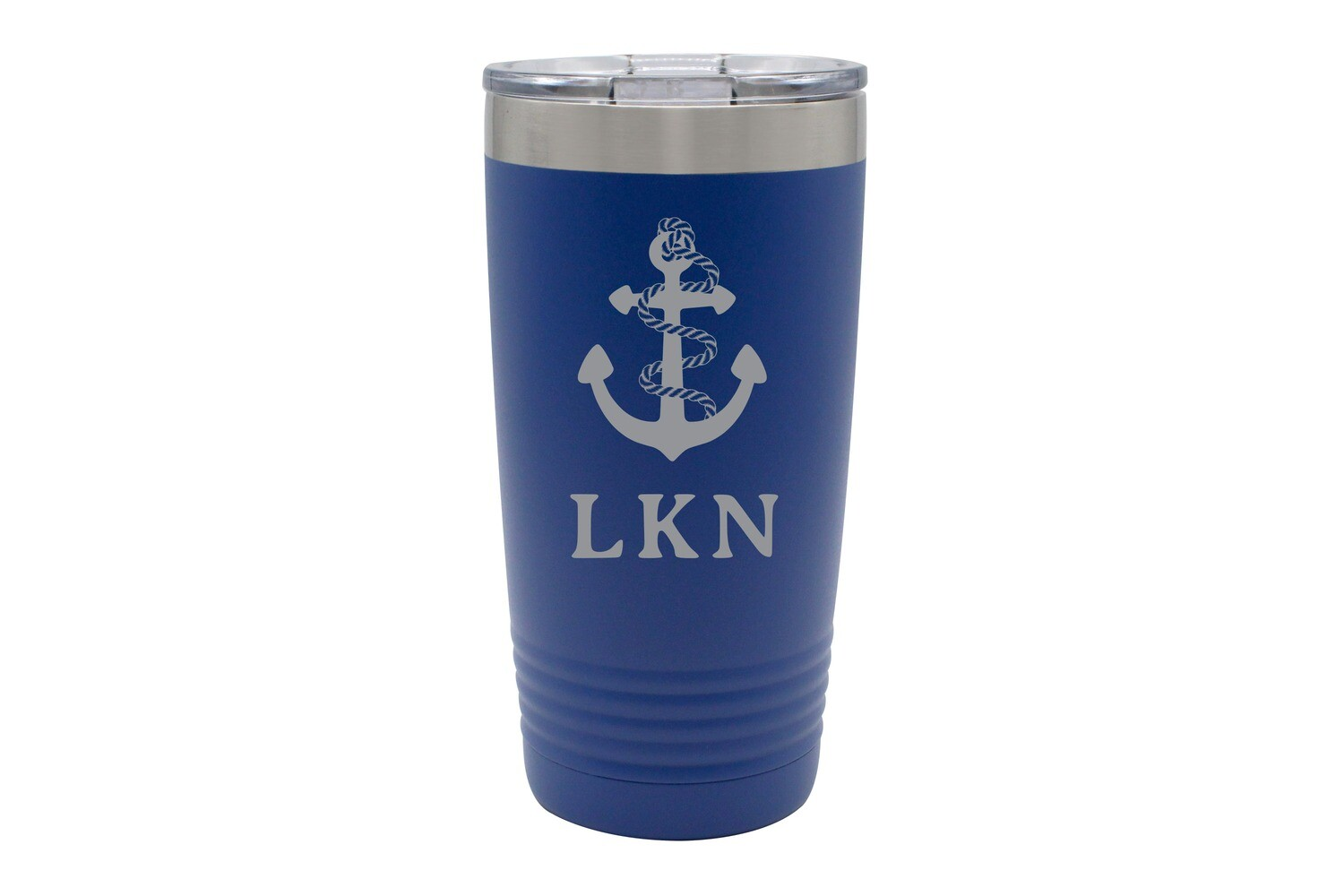 Anchor w/Rope & Customized Location Insulated Tumbler 20 oz