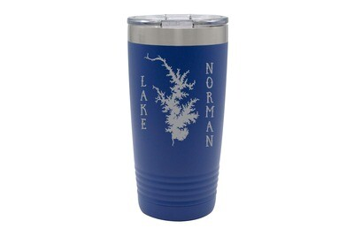 Body of Water & Customized Location Insulated Tumbler 20 oz