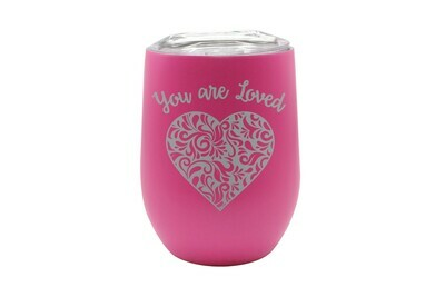 Heart You Are Loved Insulated Tumbler