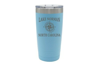 Custom Location with Latitude & Longitude Insulated Tumbler 20 oz