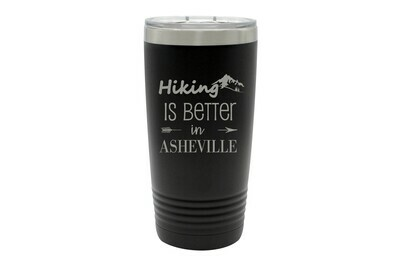 Hiking Customized with City/Location Insulated Tumbler 20 oz