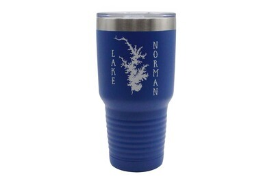 Body of Water & Vertical Customized Location Insulated Tumbler 30 oz