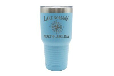 Custom Location with Latitude & Longitude Insulated Tumbler 30 oz
