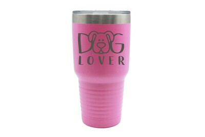 Customized Dog or Cat Lover Insulated Tumbler 30 oz