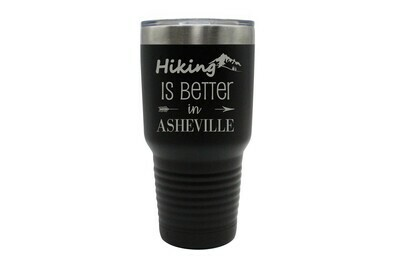 Hiking Customized with City/Location Insulated Tumbler 30 oz