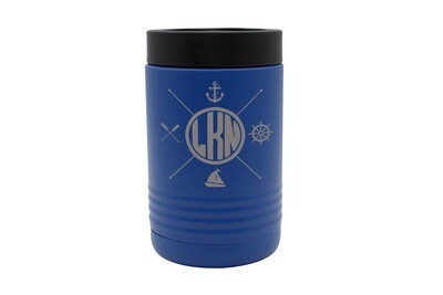 Custom Location with Nautical Themes Insulated Beverage Holder