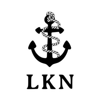 Anchor w/Rope & Custom Location Leatherette Coaster Set