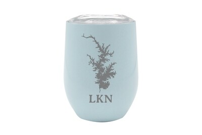 Body of Water w/Location Name Personalized Insulated Wine Tumbler