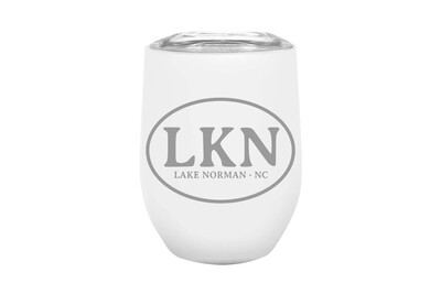 Custom Insulated Tumbler with Initials or Airport Code