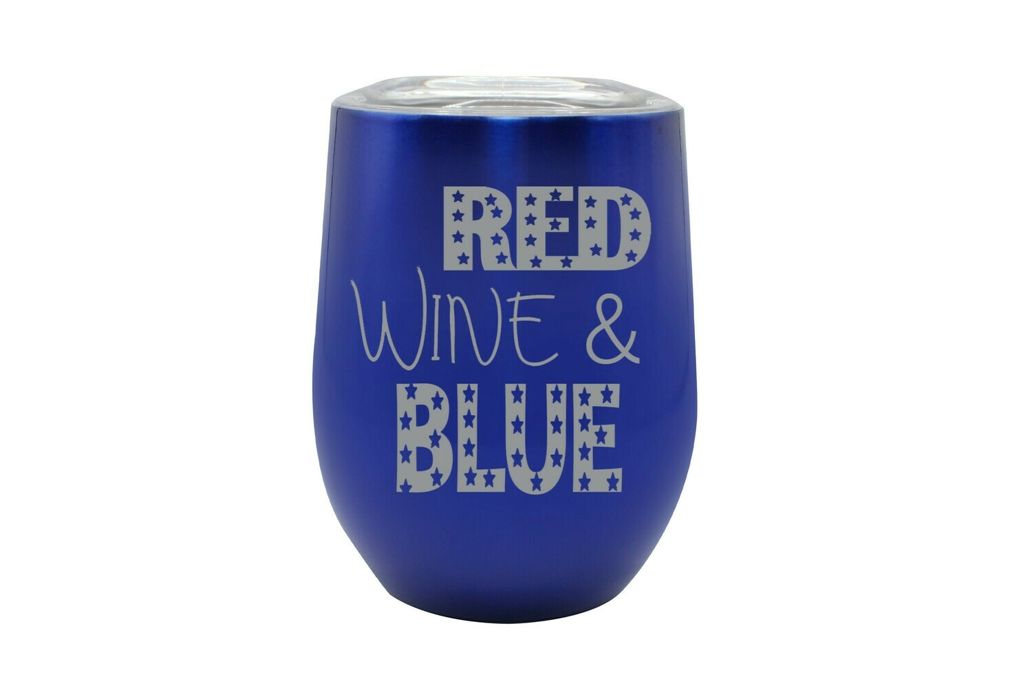 Red Wine & Blue Insulated Tumbler