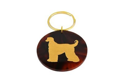 Dog Breed with Paint Key Ring