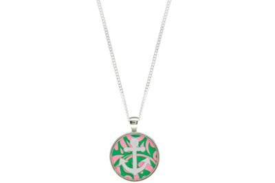 Anchor Pendant Intricate Style on Chain Necklace
