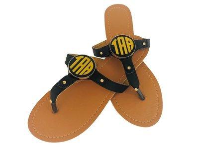 Sandal with Monogram