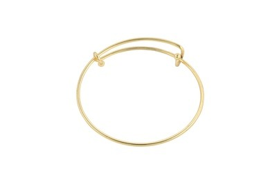 Expandable Bracelet in Gold Finish