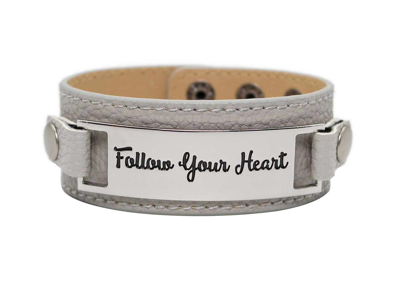 df2141d44790a Classic Cuff with Metal Plaque