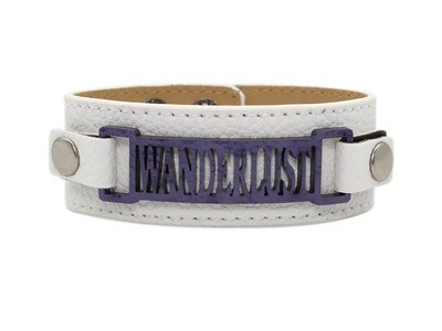 Classic Cuff with Zoe Style Plaque
