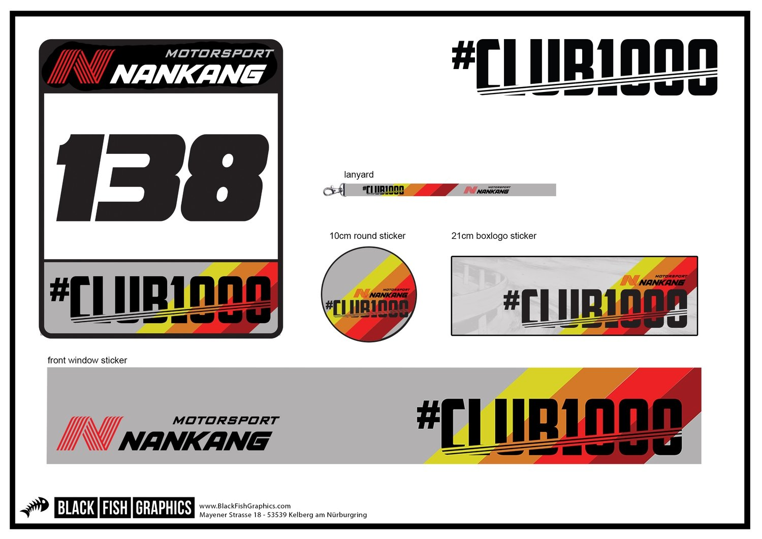 #Club1000 2018 Membership Package