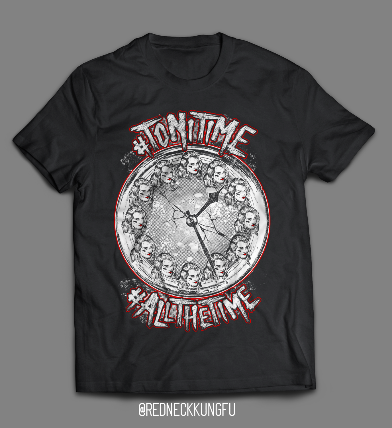 "*CLEARANCE* ""#ToniTime"" T-Shirt"