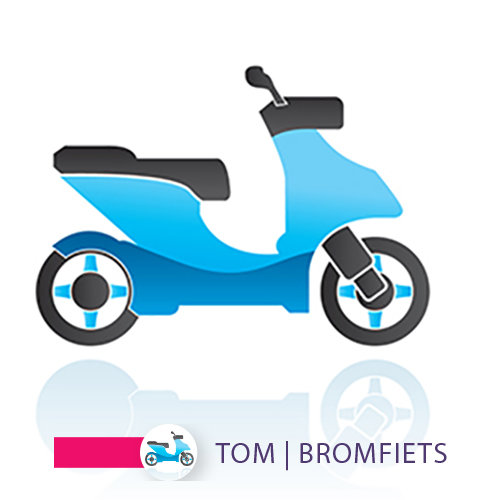 TOM | BROMFIETS / SCOOTER app