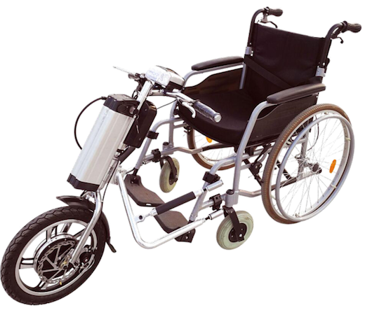 Handcycle Kit For Wheelchair Practical Electric Attachable 12Ah Long Range -GILANI ENGINEERING GEWP-01