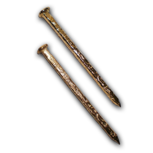Sacred Brass Nail with Arabic Inscriptions