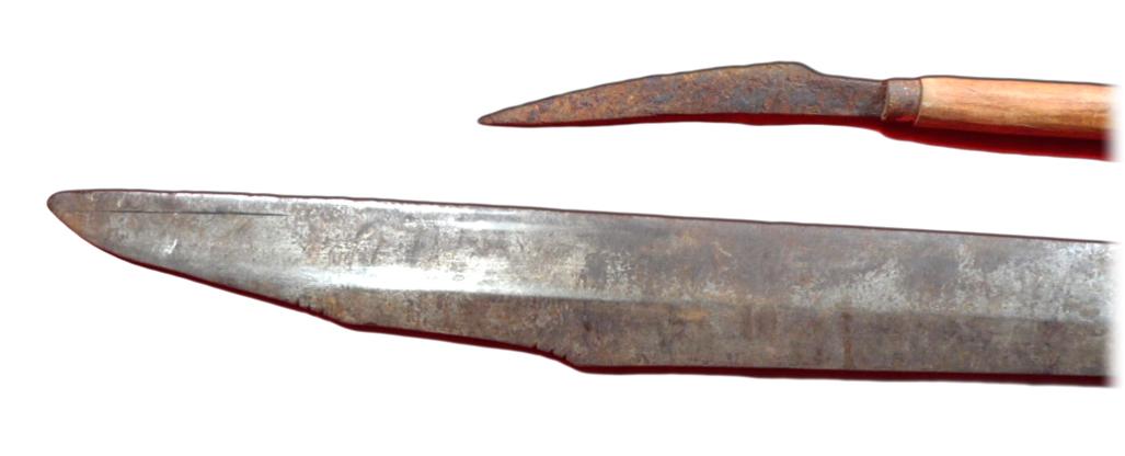Mandau Dayak Headhunter's Sword