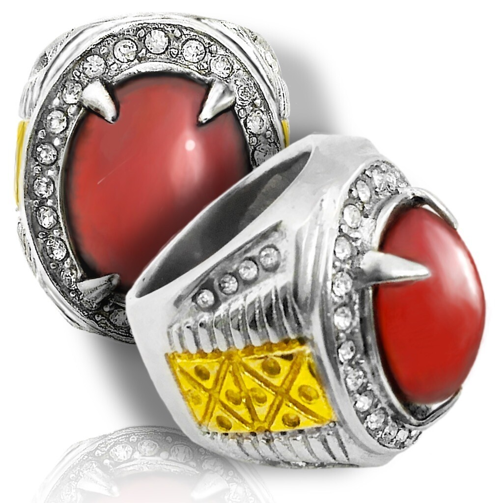 Prominent Carnelian Stimulative Amulet Boosting Sexual Arousal and Passionate Energy