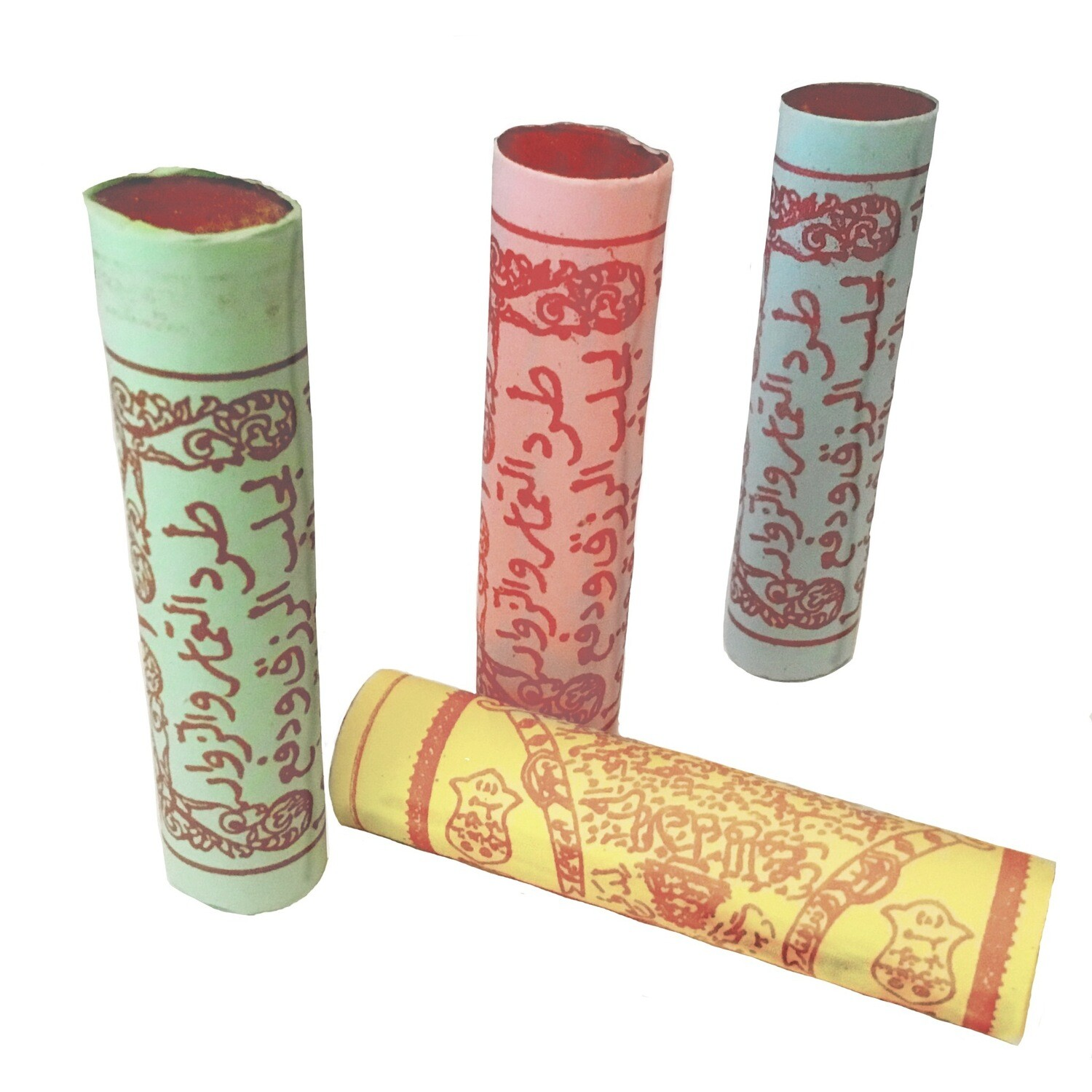 Tubular Talismanic scroll with Islamic Magic