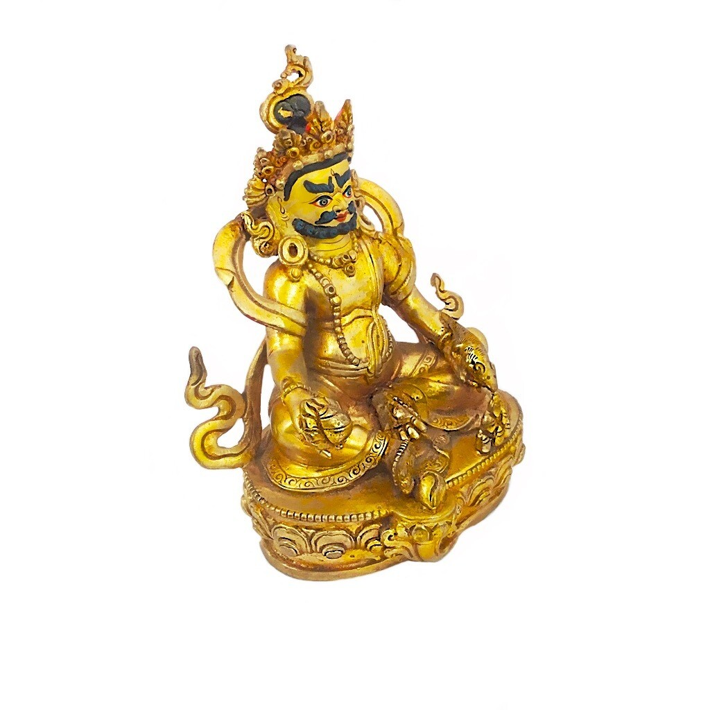 Kubera Varja Nepalese Bronze Statue for wealth and prosperity