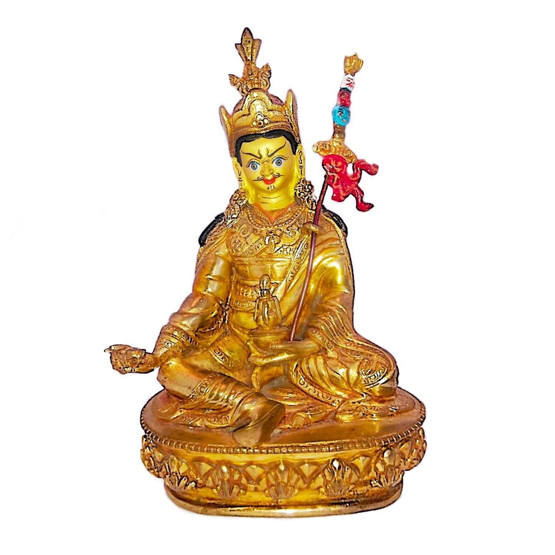 Guru Padmasambhava Nepalese Bronze Statue