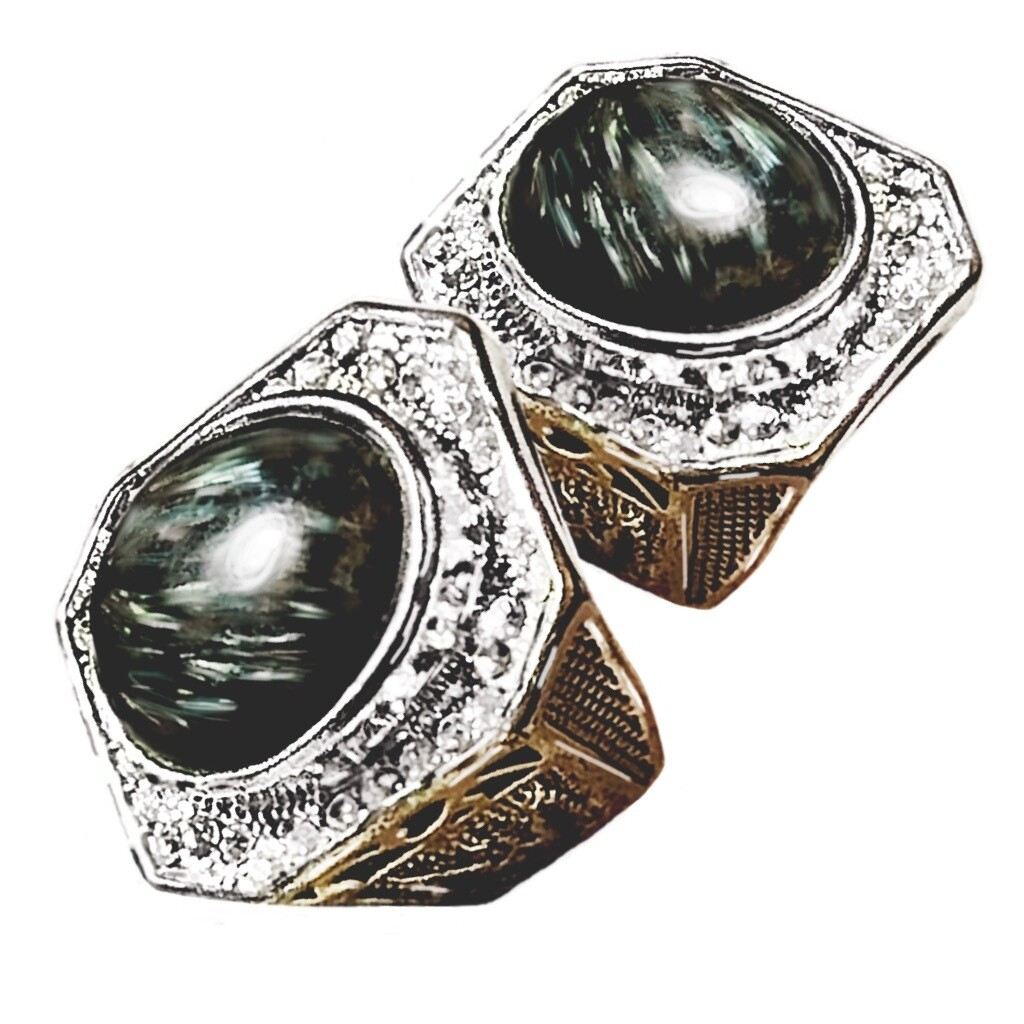 Badar Besi Eagle Ring