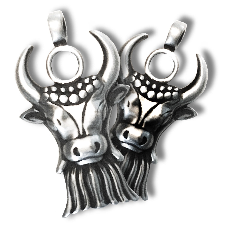 White Bull Pendant