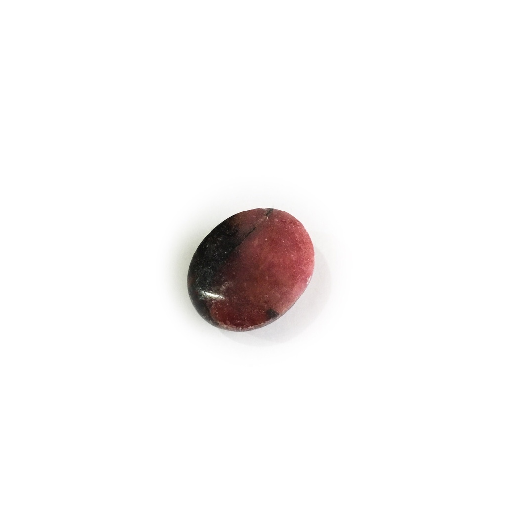 Dark Agate Mustika Gem with Reddish Hue and with a Khodam Spirit attached