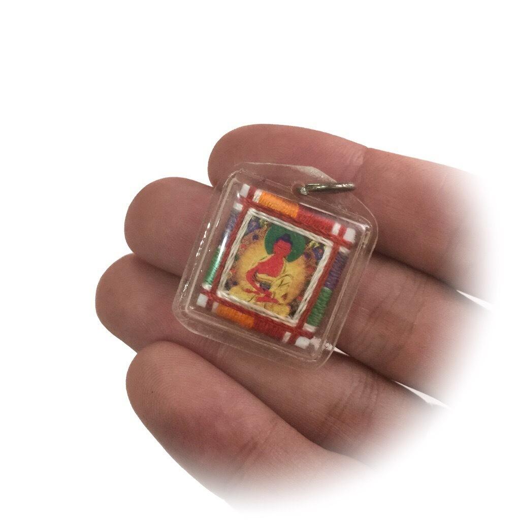 Tibetan Buddhist Talisman featuring Amitabha
