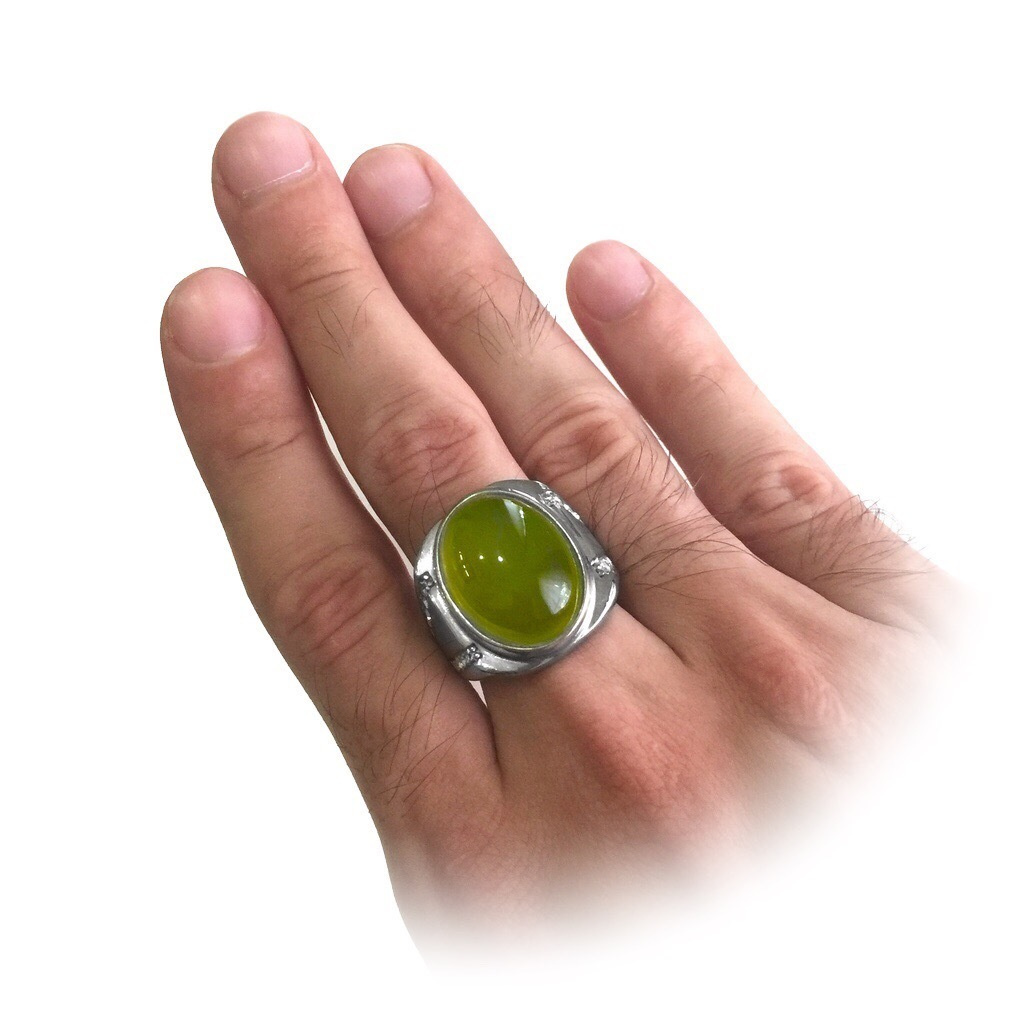 Indonesian Peridot Ring