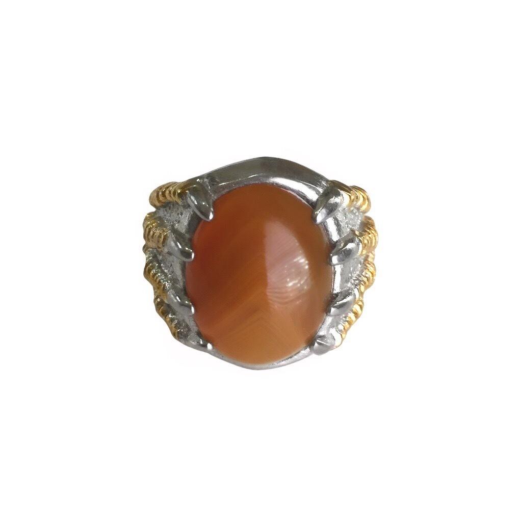 Genuine Banded Agate Amulet