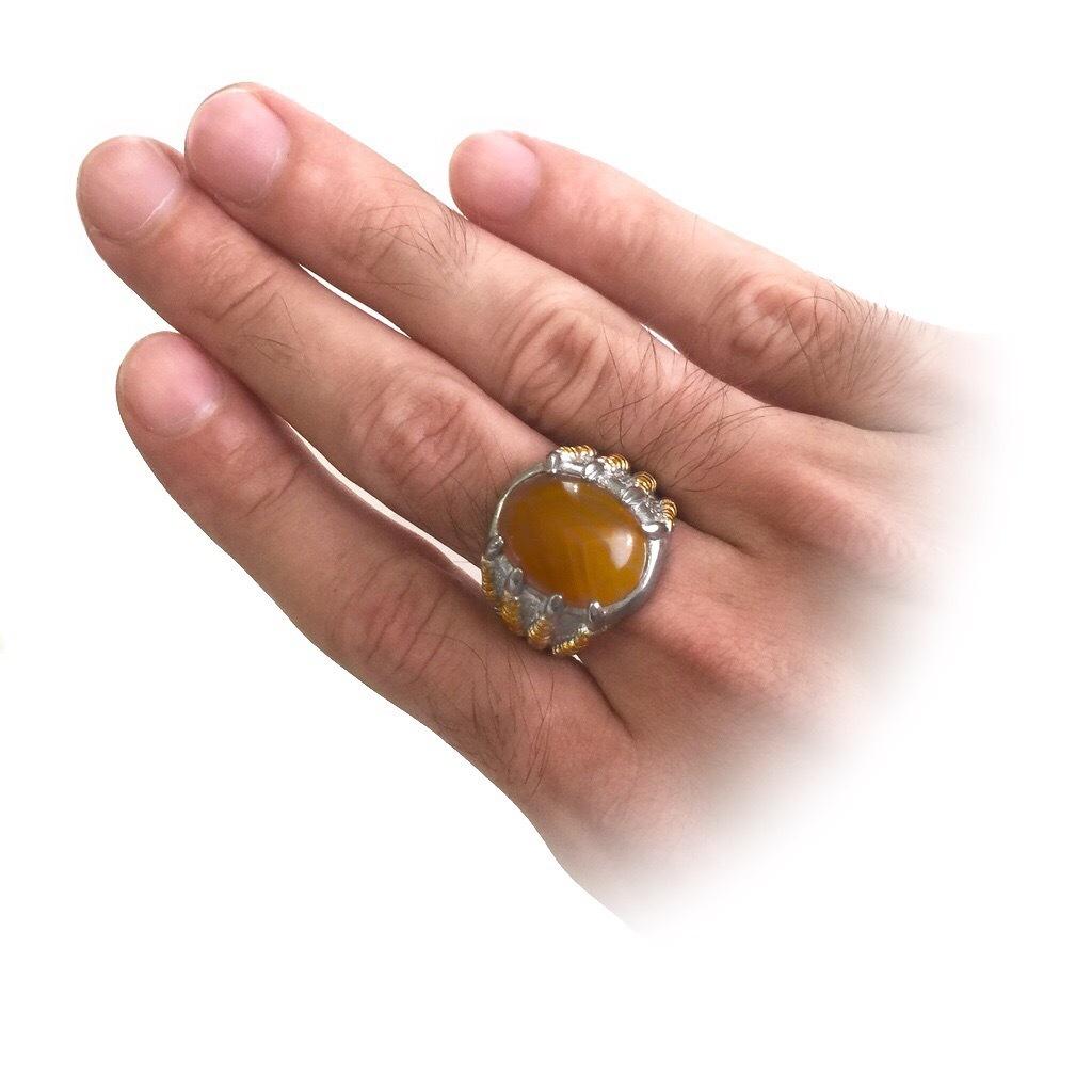 Sacred Agate Stone Amulet