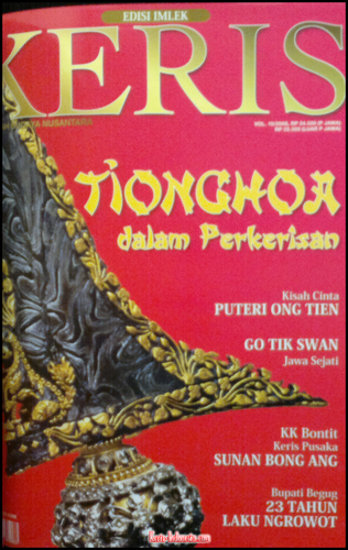 Majalah Keris vol. 10 (Chinese New Year Edition)