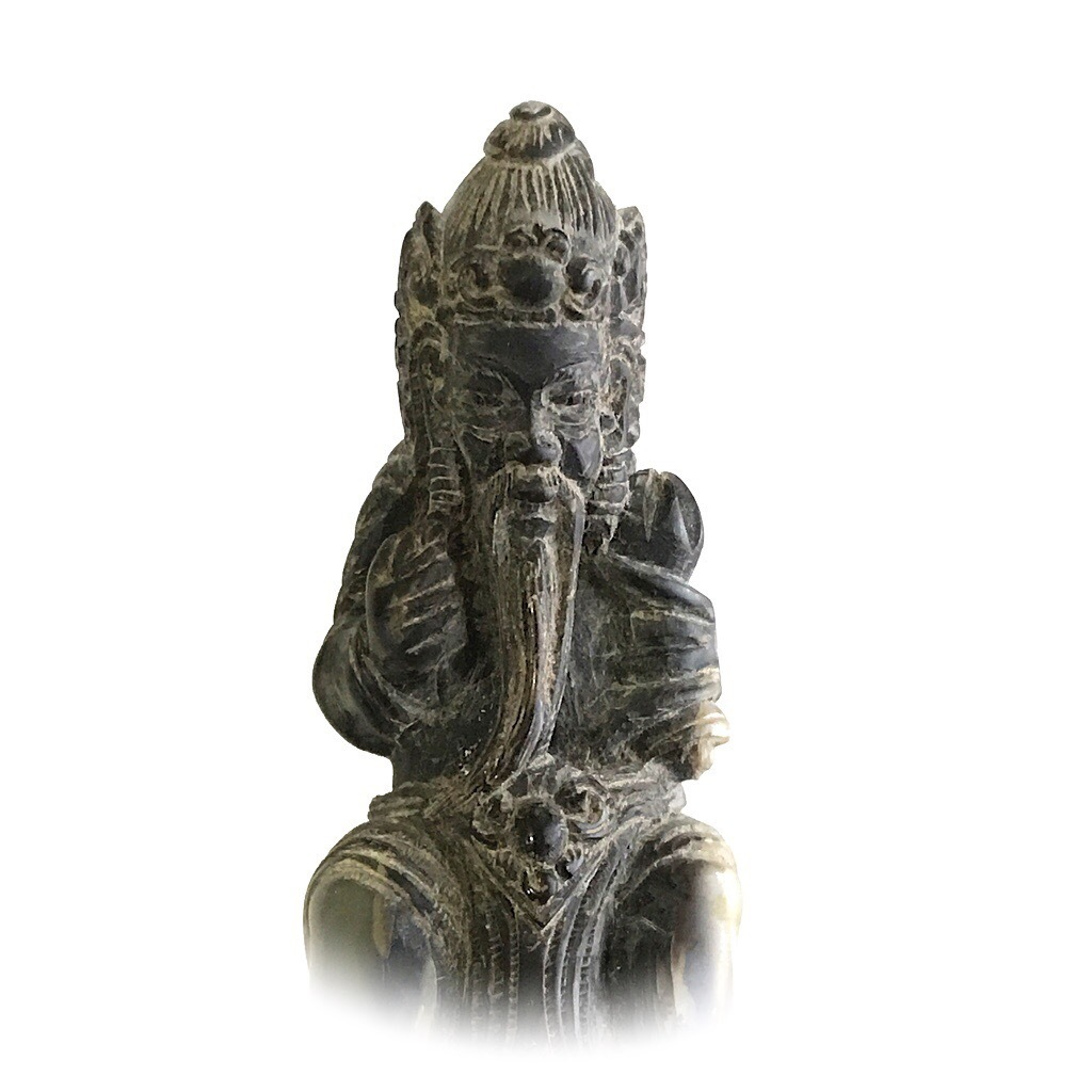 Genuine Balinese Keris Handle in the form of a Rishi Saint